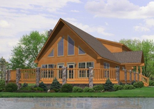 Cape style modular homes maine home design and style for Maine home builders